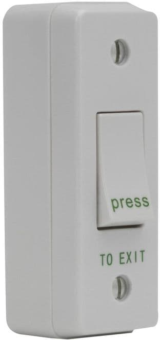 DEFENDER SECURITY DEF-0665  Exit Switch, Narrow + Surface Box